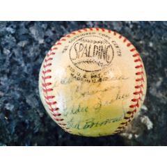 1961 San Francisco Giants (Spring Training) Team Signed Baseball