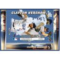 Clayton Kershaw 2014 NL MVP & Cy Young Photo Bat