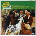 Framed Beach Boys Multi-Signed Pet Sounds Album