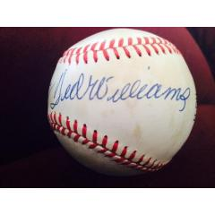 Ted Williams and Bill Terry Signed Baseball