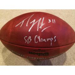 Percy Harvin Signed & Inscribed  SB XLVIII