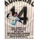 Paul Konerko Hand Painted Jersey by Al Sorenson