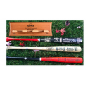 SF Giants Champions 3 Bat Set with Posey Signed '12 Bat & FREE Display Rack