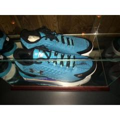 Steph Curry Autographed Carolina Blue Low Top Shoes