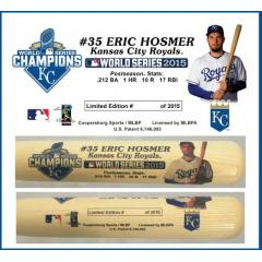 Eric Hosmer Postseason Tribute Bat