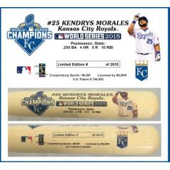 Kendrys Morales Postseason Tribute Bat