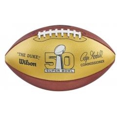 50th Anniversary Super Bowl Commemorative Football by Wilson