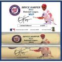 Bryce Harper 2015 NL MVP Commemorative Bat