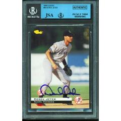 "Derek Jeter Signed ""Classic"" Pre Rookie Card"