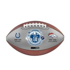 EXCLUSIVE - Peyton Manning Career Tribute Game Ball