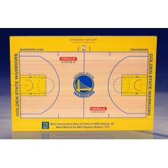 NBA Record 73 Wins Commemorative Oracle Mini Court in 1/60th Scale