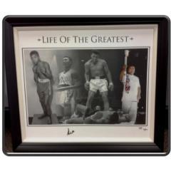 Muhammad Ali Signed Canvas Print