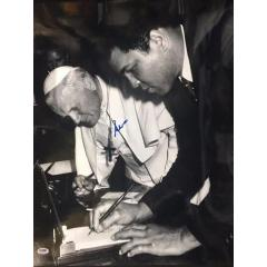 Muhammad Ali Signed Photo with Pope John Paul II - Framed