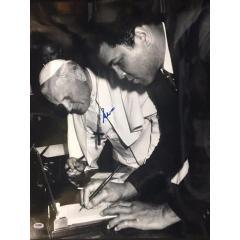 Muhammad Ali Signed Photo with Pope John Paul II - Framed