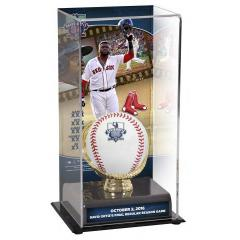 David Ortiz Historic  Final Game Ball and Custom Display