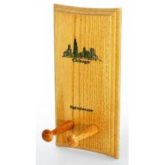 Chicago Skyline Bat Display Rack