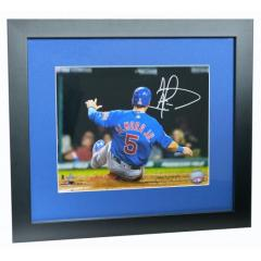 Albert Almora Jr. Autographed Framed Print  HOLIDAY DELIVERY
