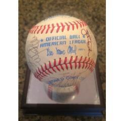 '82 Red Sox Team Signed Baseball