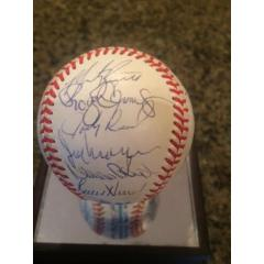 '88 Red Sox Team Signed Baseball