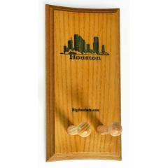 Houston Skyline Bat Display Rack