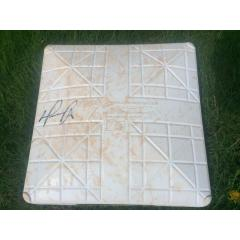 David Ortiz Autographed Base from Twins v Red Sox Game in 2016