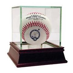 Derek Jeter Commemorative Baseball and Display Case