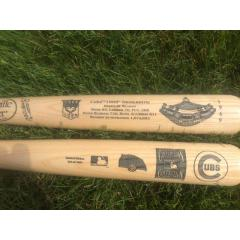Chicago Cubs 1969 Season Commemorative Bat