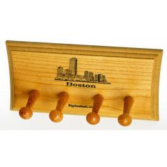 Boston Skyline 2 Bat Display Rack