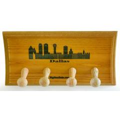 Dallas Skyline Custom Two Bat Display Rack