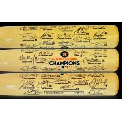 Astros 2017 AL West Champions Commemorative Bat