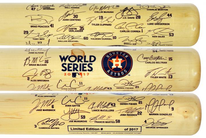 1704077f6 BigTimeBats.com - Astros 2017 World Series Team Signature Bat