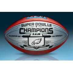 Eagles Super Bowl LII Champs Wilson Commemorative Game Model Ball