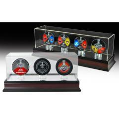 Capitals Stanley Cup Deluxe Puck Sets & Display Cases