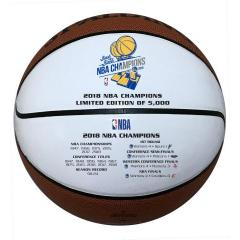 Warriors 2018 NBA Champs Commemorative Ball