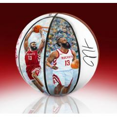 EXCLUSIVE James Harden NBA MVP Commemorative Art Ball