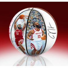 EXCLUSIVE James Harden NBA MVP Commemorative Art Ball