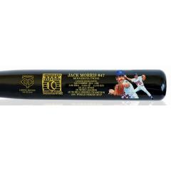 Jack Morris Twins Edition Hall of Fame Commemorative Art Bat