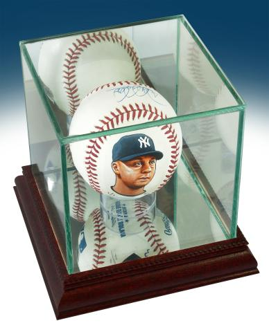 a432e349ad6 BigTimeBats.com - Derek Jeter Signed   Hand Painted Baseball