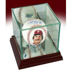 Mike Schmidt Signed, Inscribed, & Hand Painted Baseball