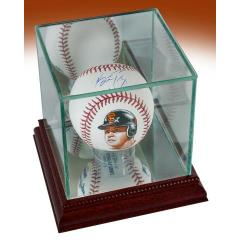 Buster Posey Signed & Hand Painted Baseball