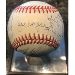 1988 Red Sox Team Signed Baseball