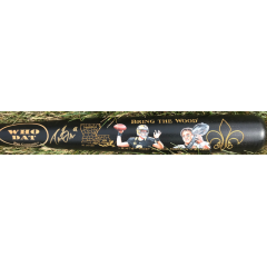 Drew Brees Signed & Hand Painted Passing Yards Record Bat