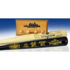 Milwaukee Brewers 2018 NL Central Champions Two Bat Set