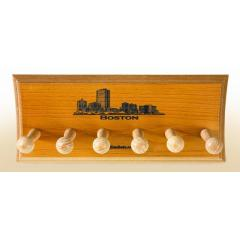 Boston Skyline 3 Bat Display Rack