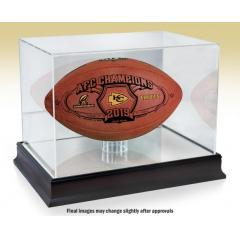 Chiefs First Ever AFC Championship Game Ball & Display Case