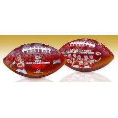 Chiefs First AFC Championship Art Football