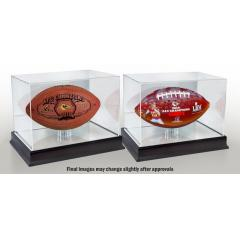 Chiefs Super Bowl LIV Football Set with Display Cases