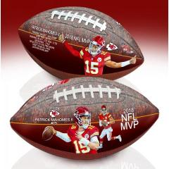 Patrick Mahomes II 2018 NFL MVP Art Football
