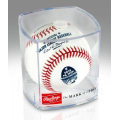 Christian Yelich NL MVP Rawlings Baseball in Factory Case