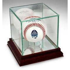 Christian Yelich NL MVP Rawlings Baseball in Glass Case